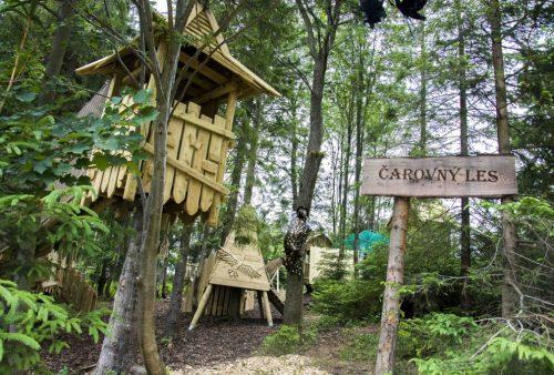 čarovný les Strachankovo Family park Ždiar