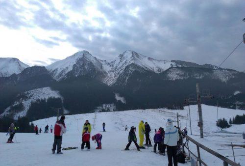 Belianske Tatry Ski Strednica Lyžiarske stredisko lyžiarska škola