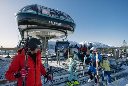 Lyžiarske stredisko kabinkova lanovka Ski Bachledova Dolina Ždiar