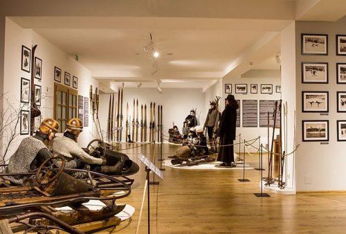 Historické Múzeum lyžovanie Tatranská Lomnica