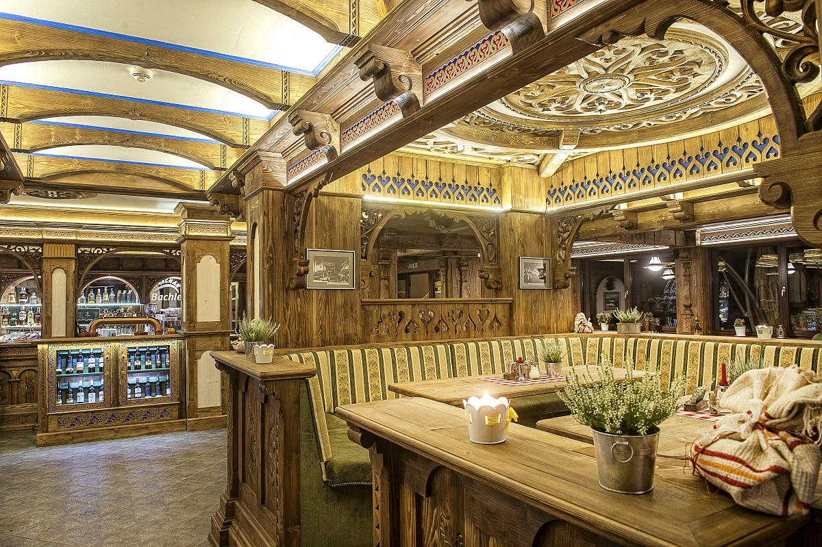 Reštaurácia Bachledova dolina Ždiar Grand Hotel Bachledka Strachan