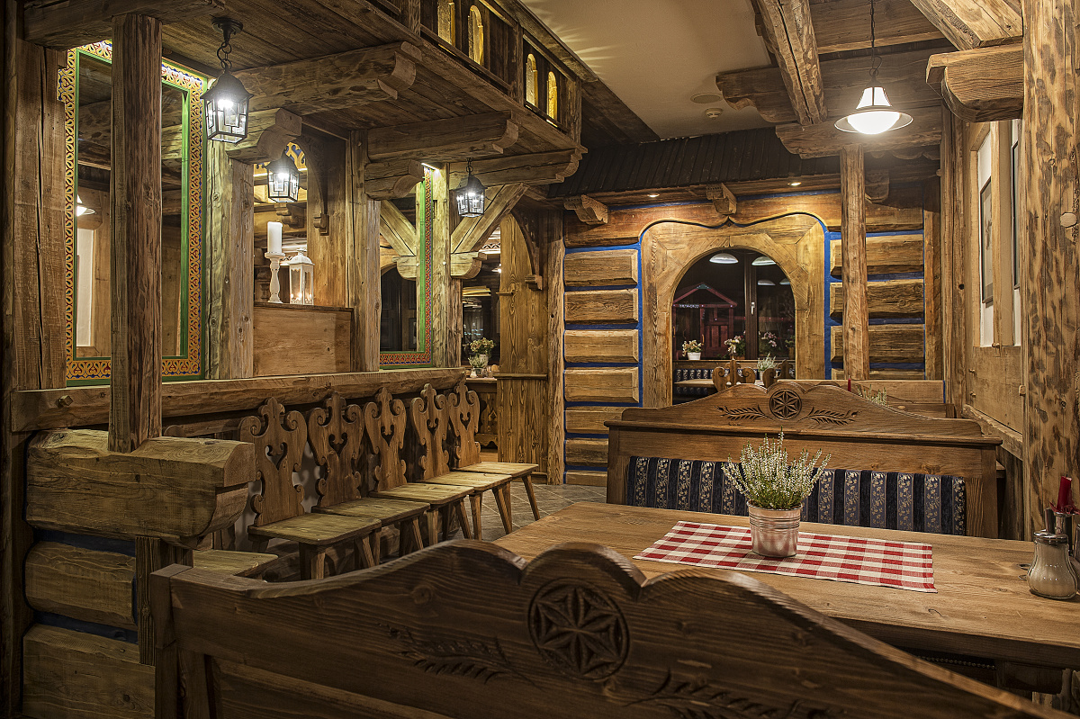Reštaurácia Ždiari Grand hotel Bachledka Strachan