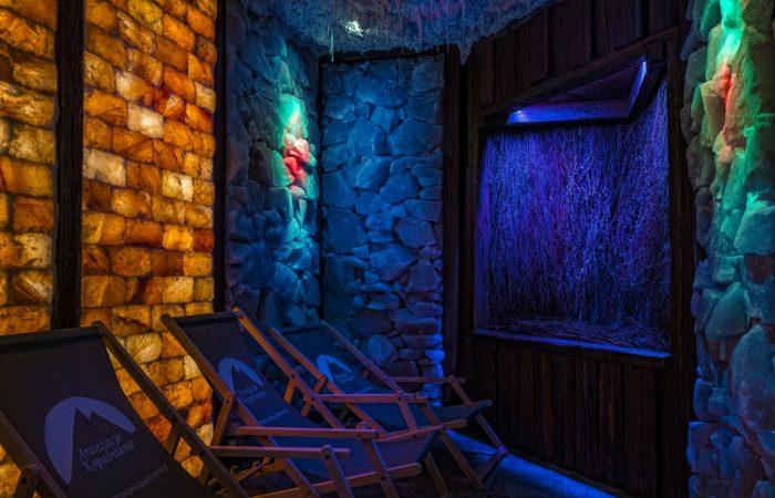 Soľná himalájska sauna - Grand Hotel Bachledka Strachan Ždiar