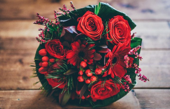 Kytica ruže