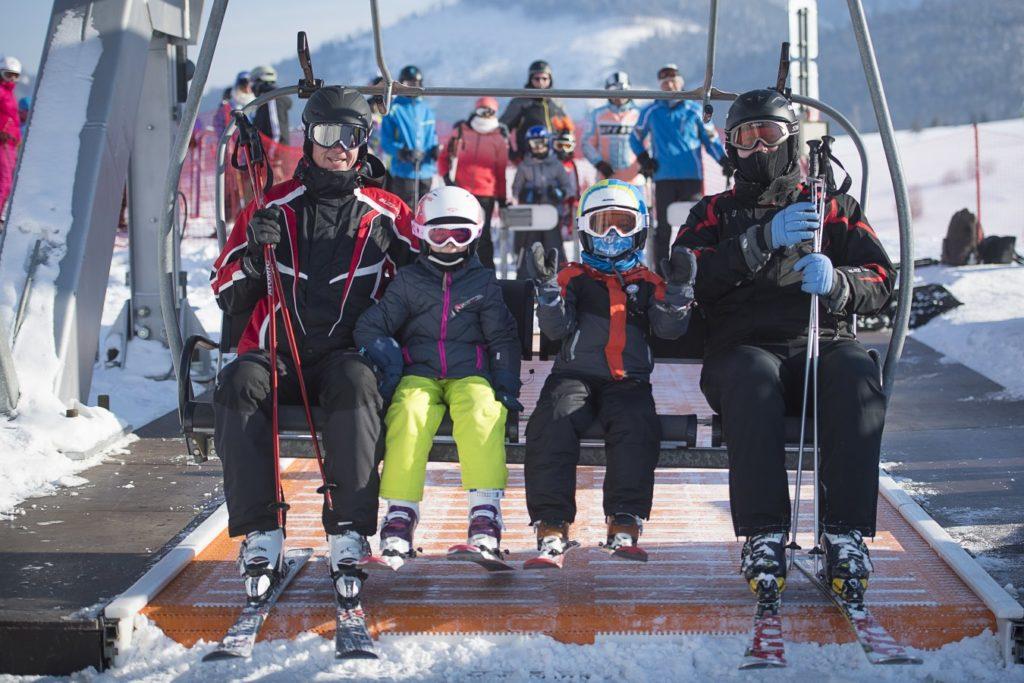 4-sedačková lanovka Lyžiarske stredisko Strachan Ski Centrum